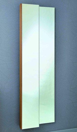 moderner spiegelschrank aus nussbaum massivholz. Black Bedroom Furniture Sets. Home Design Ideas